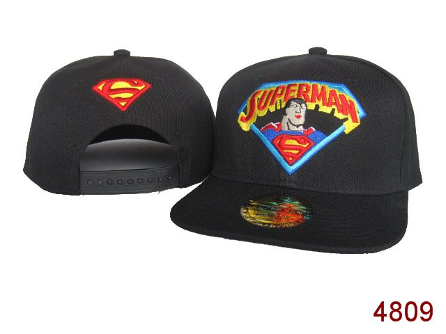 Super Man Snapback Hat 28